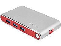 Хаб USB Rombica Type-C Hermes Red