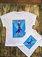 "Детская футболка ""Blue print"""