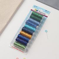 Нитки для вышивания №3, 183 м, 10 шт, цвет разноцветный
