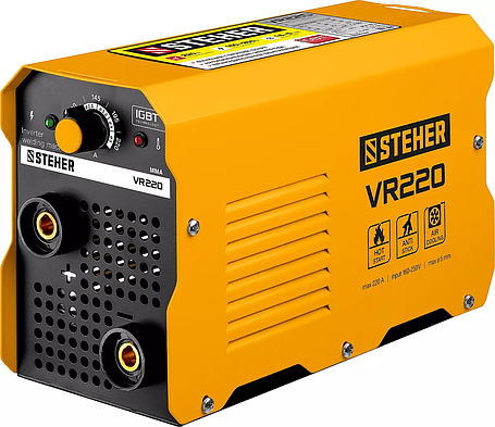 Сварочный аппарат инверторный STEHER 220 А, ММА (VR-220), фото 2