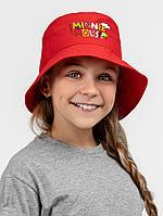 Панама детская «Минни Маус», красная, фото 1