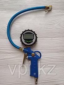 Пневматический пистолет для подкачки шин с электронным манометром, DG-004