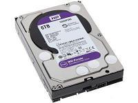 """HDD 6000 Gb Western Digital (WD60PURZ), 3.5"""", 64Mb, SATA III, Purple"""