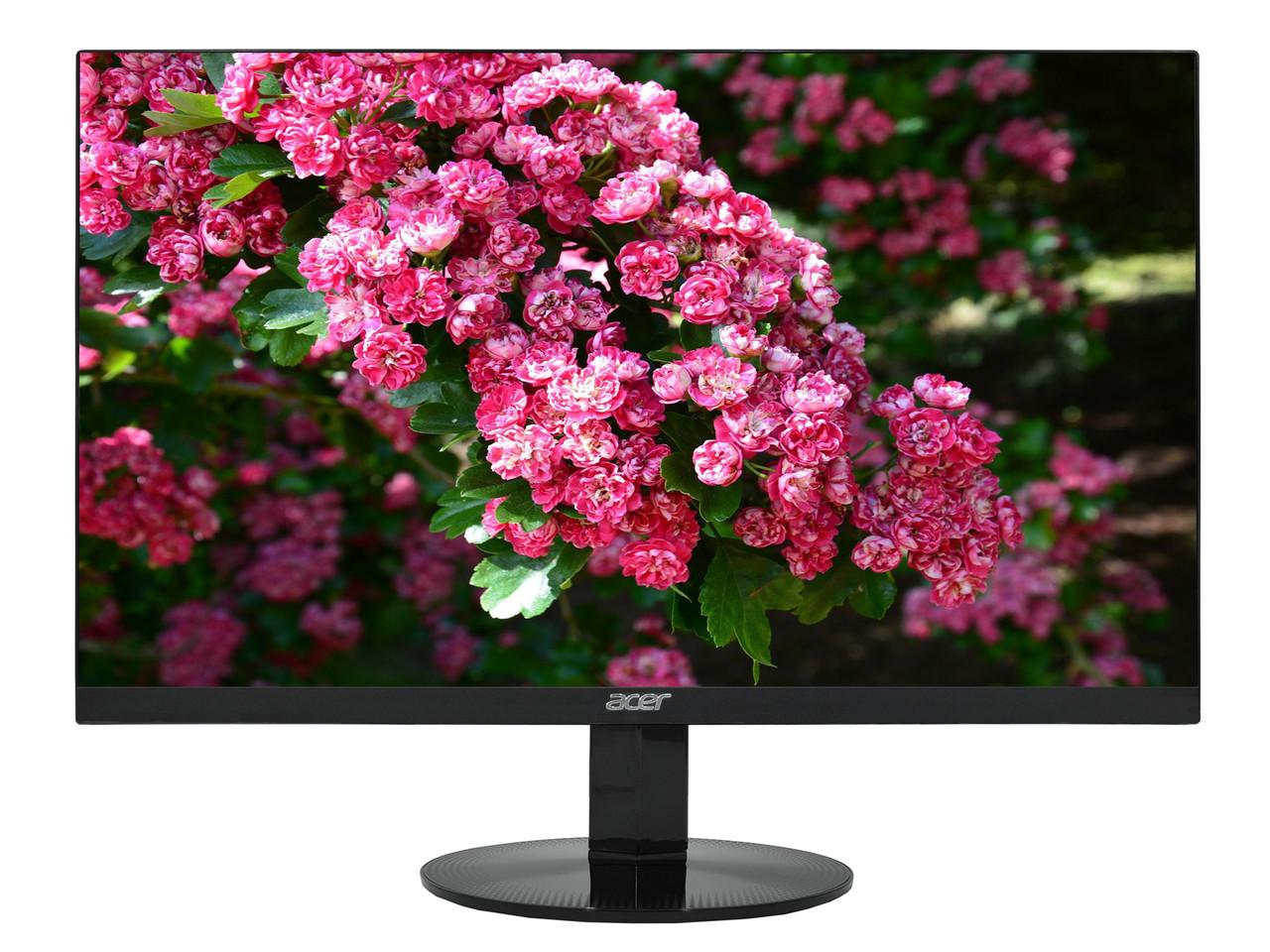 "Монитор Acer SA240YAbi LCD 23.8"" 1920x1080 IPS (LED), 4ms, 250 cd/m2, 1000:1, VGA/HDMI"