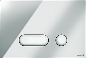 Кнопка INTERA  LINK PRO/VECTOR/LINK/HI-TEC пластик хром глянцевый