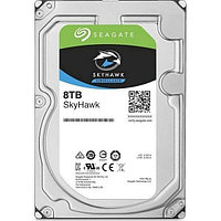 "Жесткий диск HDD 8000 Gb Seagate SkyHawk (ST8000VX004), 3.5"", 256Mb, SATA III"