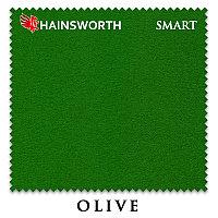 Сукно Hainsworth Smart Snooker 195 см Olive