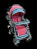 Детская прогулочная коляска Belecoo 511 розовая, фото 2