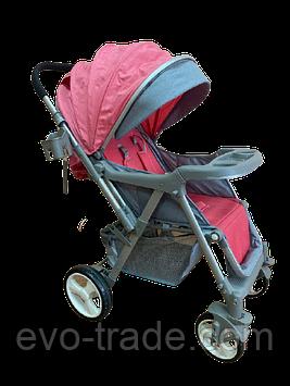 Детская прогулочная коляска Belecoo 511 розовая