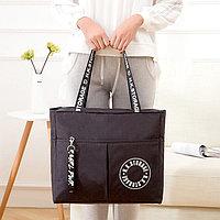Водоотталкивающая сумка для путешествий непромокаемая H.K.Storage черная