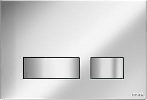 Кнопка MOVI для LINK PRO/VECTOR/LINK/HI-TEC пластик хром матовый