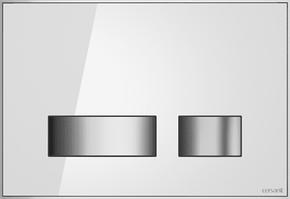 Кнопка MOVI для LINK PRO/VECTOR/LINK/HI-TEC стекло белый