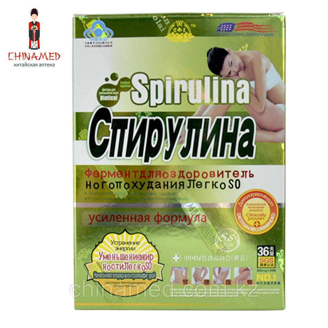 Капсулы для похудения Спирулина