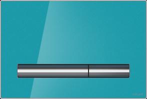 Кнопка PILOT для LINK PRO/VECTOR/LINK/HI-TEC стекло лазурный