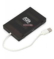 """Коробка для 2,5"""" жестких дисков Agestar SUBCP1, Черный"""