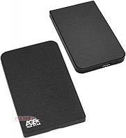 """Коробка для 2,5"""" жестких дисков Agestar 3UB201, Черный"""