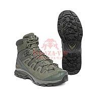 Тактические ботинки, стойкая к проколам подошва Salomon Quest 4D Forces 2 EN (Ranger Green)