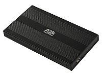 """Коробка для 2,5"""" жестких дисков Agestar 3UB2S, Черный"""