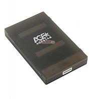 """Коробка для 2,5"""" жестких дисков Agestar 3UBCP1-6G, Черный"""