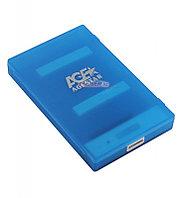 "Коробка для 2,5"" жестких дисков Agestar 3UBCP1-6G, Синий"
