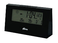 Weather station Ritmix CAT-044, 2xAAA (not included), black