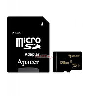 Карта памяти microSDXC 128GB, Apacer AP128GMCSX10U1-R