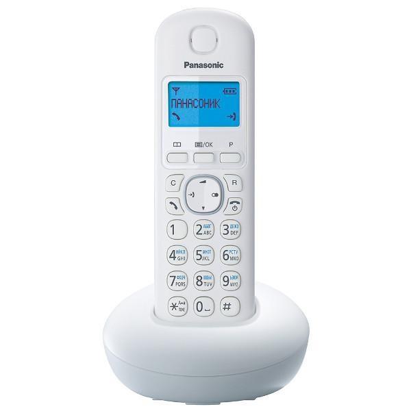 Телефон Panasonic KX-TGB210RUW