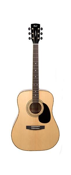Акустическая гитара, цвет натуральный  Cort AD880-NS Standard Series