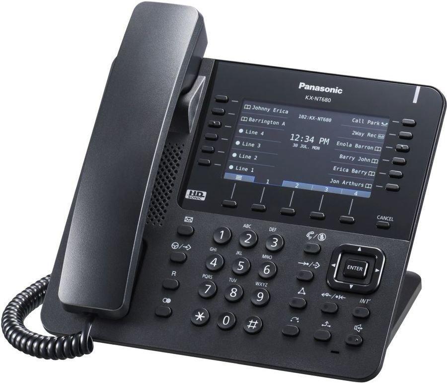 IP-телефон Panasonic KX-NT680RU-B
