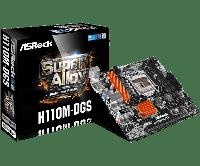 Материнская плата ASRock H110M-DGS LGA 1151 PCI-E DVI GbLAN SATA