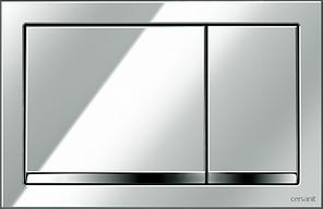 Кнопка ENTER для LINK PRO/VECTOR/LINK/HI-TEC пластик хром глянцевый