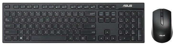Клавиатура + мышь Asus W2500 (90XB0440-BKM040)