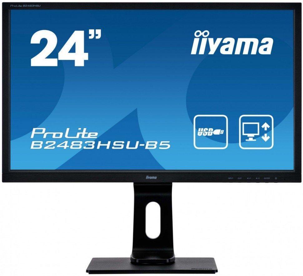 Монитор Iiyama LCD B2483HSU-B5