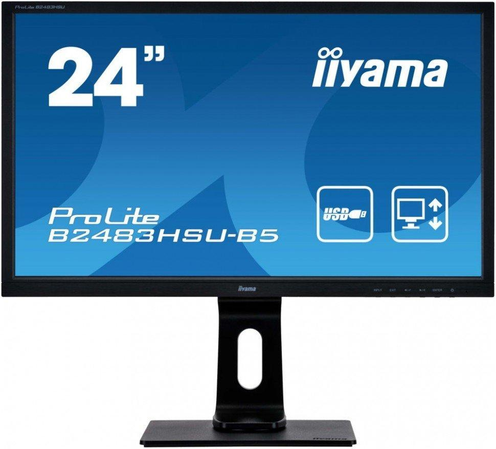 Монитор Iiyama E2483HSU-B5