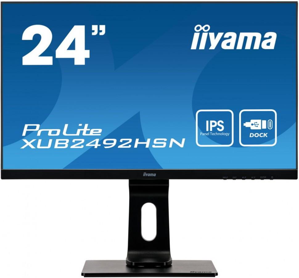 Монитор Iiyama XUB2492HSN-B1
