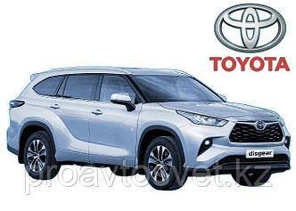 Toyota Highlander электрическая подножка 2009-2019
