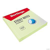 """Клейкие листки BERLINGO """"Standard"""" 76х76 мм, зеленый, 100 листов"""