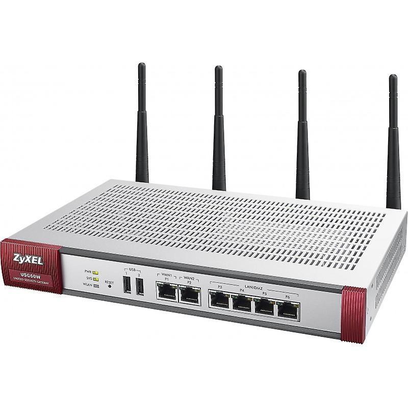 Межсетевой экран Zyxel USG60 UTM BDL (USG60-RU0102F)