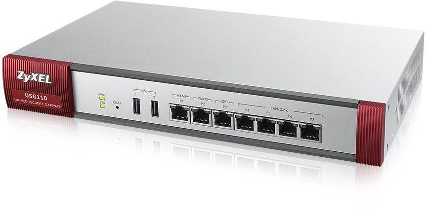 Межсетевой экран Zyxel USG110 (USG110-RU0102F)