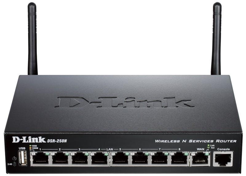 Межсетевой экран D-Link DSR-250N