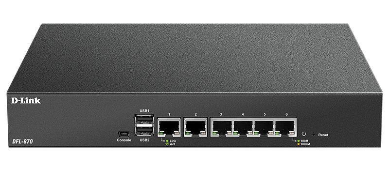 Межсетевой экран D-Link DFL-870