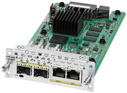 Модуль Cisco NIM-2GE-CU-SFP