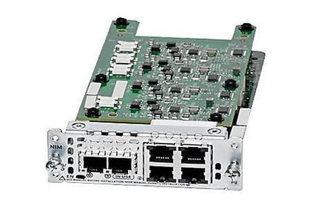 Модуль Cisco NIM-2FXS/4FXOP