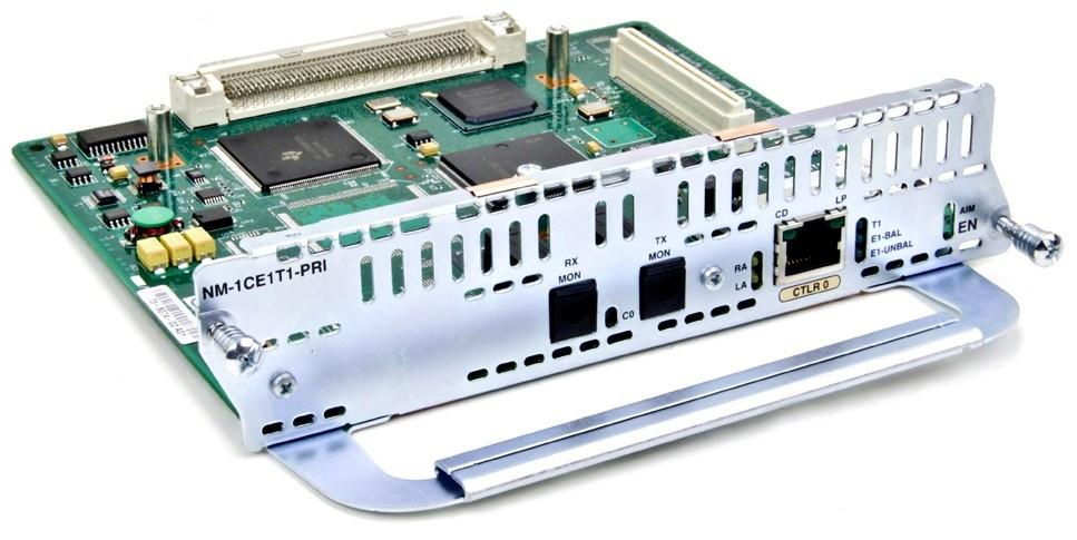 Модуль Cisco NIM-1CE1T1-PRI