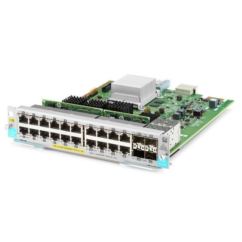 Модуль HPE Aruba 20p PoE+ 4p SFP+ v3 zl2 (J9990A)