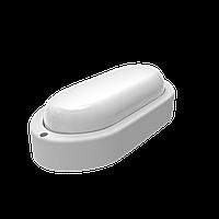 Светильник ЖКХ Gauss ECO овал 12W 940lm 4000K 160-260V IP65 198*96*53мм белый