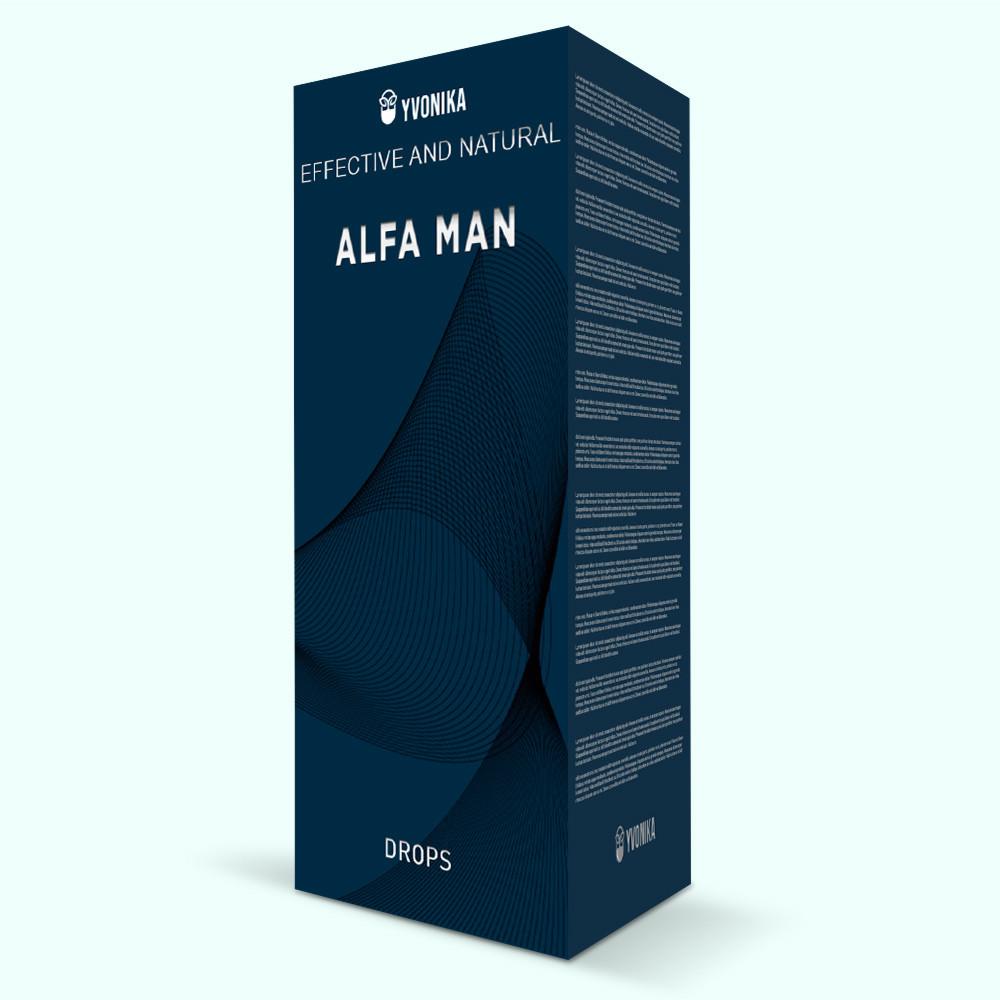 Alfa Man (Альфа Мен) - средство для усиления эректильной функции