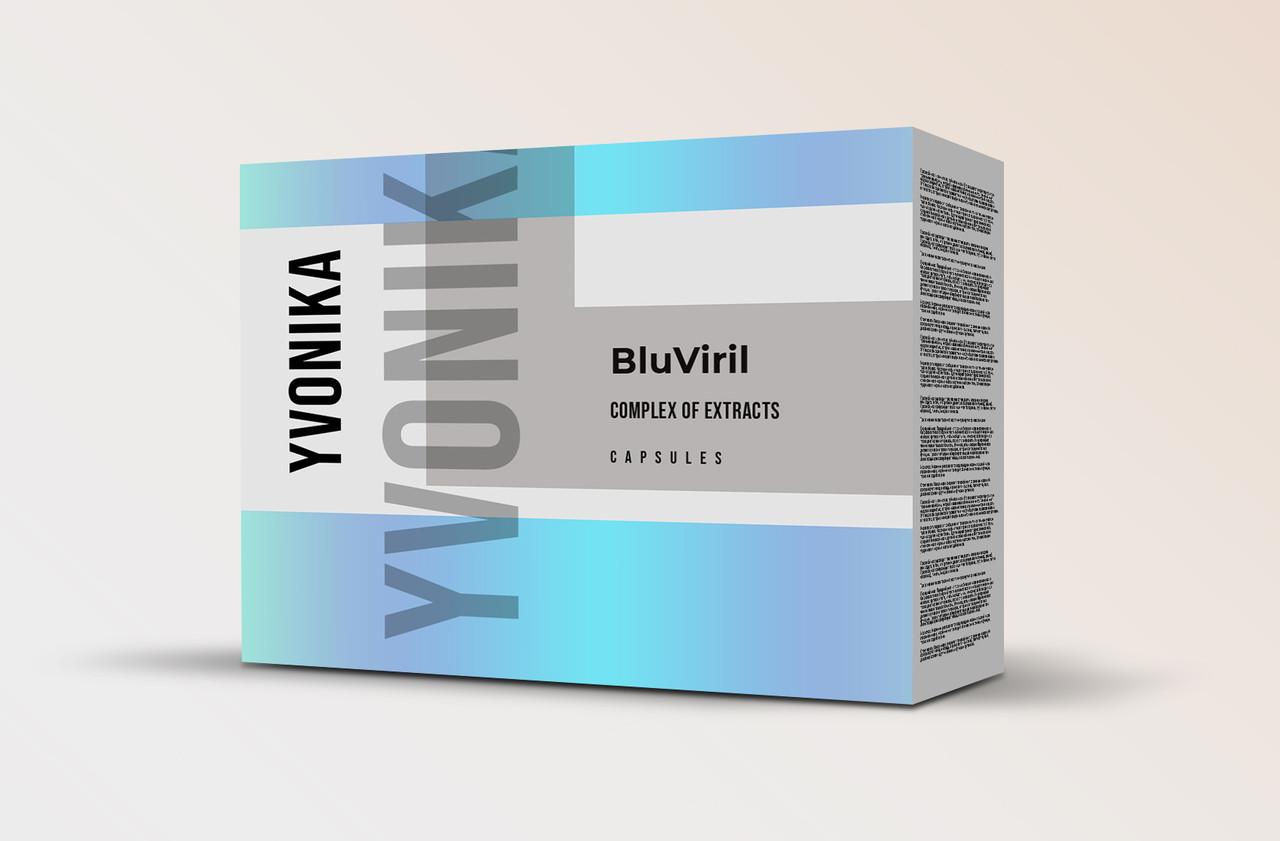 BluViril (БлуВирил)- капсулы для повышения потенции