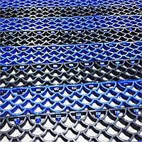 Грязезащитное напольное покрытие, коврик придверный Синий