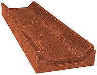 Лоток водоотведения ЛВ-50, полимер песчаный 500х150х50мм (Красный)